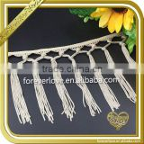 Wholesale twisted rope braid knot fringe trim tassel string FT-005