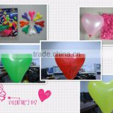 inflatable haert shape balloon for Valentine's Day