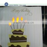 Beautiful birthday music card inserts recordable