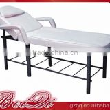 Beiqi Factory Customize Cheap Beauty Salon Bed Massage Table with Stainless Steel Base Used Beauty Salon Furniture