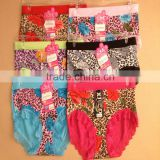 0.62USDHigh Quality Flower Print Cotton Material Beautiful Fat Lady Panty/Panties/Thongs(jlhnk196)