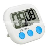 CE Certificated Mini Digital Kitchen Cooking Timer LCD Display Count Down Up Electronic Alarm