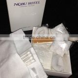Free E Cigarette Electronic hotel disposable vanity kit pcc /natural facial kits