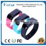 2015 Sanemax TPU material standby time 180 days IP67 bluetooth 4.0 bracelet with CE&Rohs&FCC certificate Smart Bracelet