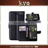 Black Wallet Flip Cover for Amazon Fire Phone Case