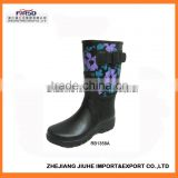 Women's Rain Boots, 2015 Most Popular Fashion Patterned Rain Boots for Women/Rain Boots for Ladies