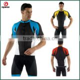 Gentleman Cycling Bike Short Sleeve Clothing Set Bicycle Men Wear Suit Jersey Bib Shorts