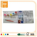 children painting board