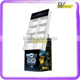 Supermarket hot sale point of purchasing food 8 cell cardboard display stand for candy-packaging