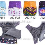 New design Bamboo charcoal AI2 baby diapers Cotton Cloth diaper suppliers