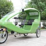 JOBO OEM Advertising Velo Taxi Tricycle for Passenger/Rickshaw Pedicab Electric