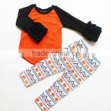 2016 hot sale baby halloween pajamas kids boutique outfit children 's halloween sets