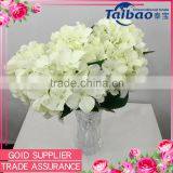 Wholesale cheap 5heads silk artificial hydrangea flower for wedding TB-SK-1102                                                                         Quality Choice