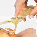 Transparent ABS+S/S 15.7*7 Hot seal creative peeler/vegetable&fruit peeler/lovely potato peeler/apple peeler