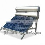 new arrvial residential 180L compact no-pressurized solar water heater with 5L assistant tank
