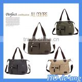 Hogift 2015 Latest Designer designer canvas hand bag/canvas lady bag/canvas women's bag