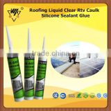 Roofing Liquid Clear Rtv Caulk Silicone Sealant Glue