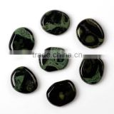 Free shipping 6 piece Engraved Chakra Stone Palm Stone Crystal Reiki Healing / palm stones wholesale