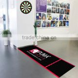 Personalized Machine Washable Dart Mat Made in China