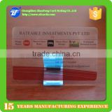 Free Design Best Material Plastic Transparent card; Plastic clear card; Transparent business card