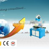 quality products semi automatic flat and cylinder heat transfer machine for plastic bottle