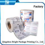 automatic machine for packing isopropyl alcohol prep pad aluminum foil paper