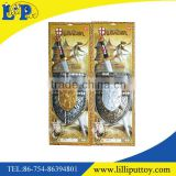 Kids knights templar sword and shield toys set