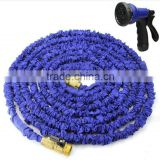 flexible garden hose flexible with brass fitting , with aluminum buckle to prevent leakage                                                                         Quality Choice
