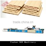 SKR machinery PVC profile production line plastic extruder for hollow buckle sheet release bar