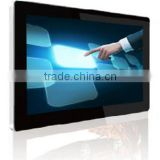 wall mounted LED android tablet digital signage player, andriod multi touch screen kiosk