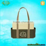 New resuable 600d polyester canvas tote bag