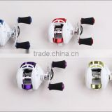 Various color Wholesale 5.1:1 fishing reels bait casting reel 9+1 cheep fishing casting