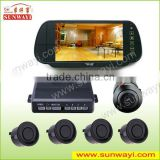 factory competitive price ! electromagnetic parking sensor system with rearview mirror display