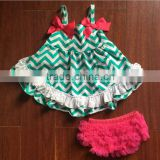 Wholesale Multi Color Ruffled Lace Baby Girl Bloomers Diaper Cover Newborn Baby Kids Bloomers Outfits