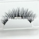 wholesale black beauty supply natural-looking 3D real mink fur false eyelashes eyelash extension