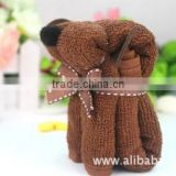 JPTOWEL150411 Hot sale cute dog microfiber towel 2015