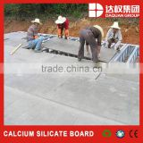 4.5mm thickness calcium silicate board/fiber cement board for the raw material of EPS cement sandwich panel