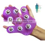 Hot Selling Palm Back Body Massager Glove Silicone Massage Glove for Health Care