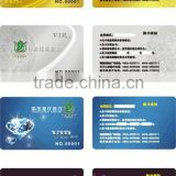 contact smart ic chip card hot sale with hole punch match 125khz reader
