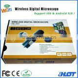 200 wireless wifi digital microscope camera for iPhone & iPad and android mobile phone and tablet PC
