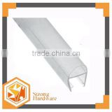 WP-H02 PVC U-Channel water proof plastic weather strip RUBBER strip seals Magnatic window/door rubber sealing Strips