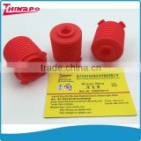 High quality customized excellent tear resistant non-flammable silicone rubber flexible bellows