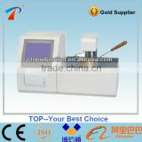 Completely automatic closed cup oil flash point testing machine/ oil flash point analyzing plant