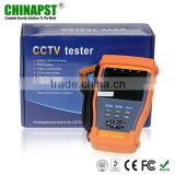 With fiber optcial power meter function 3.5 inch multi-function cctv tester PST-Tester896