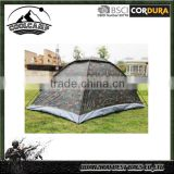 2 Person Camping Tent Single Layer Waterproof Outdoor Portable with Carry Bag Camouflage