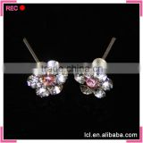 Flower stud earring women, stud earrings in bulk