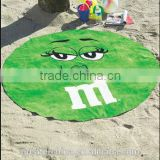 Round Cotton Beach Towel