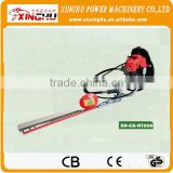 1E32F engine double side 25.5cc gasoline hedge trimmer/made in china/two blades hedge trimmer