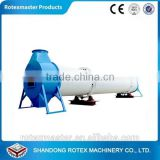 Highly efficient industrial biomass food rotary drum dryer whole pellet production line using