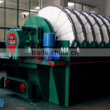 vacuum disc filter as multiple disc screw press mobile sludge dewatering of Iron ore and non-ferrous ore